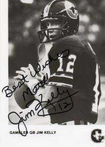 Jim Kelly USFL Houston Gamblers Image